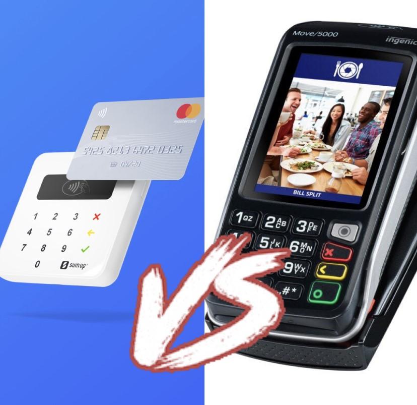 PAYG Card Reader verses a standard  Card Machine